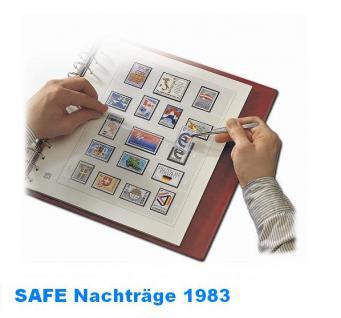 SAFE 1783 dual Nachträge - Nachtrag / Vordrucke Berlin Jahresschmuckblätter - 1983