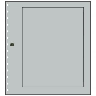 10 x SAFE 680 Karton Blankoblätter Favorit Grau Rand schwarz
