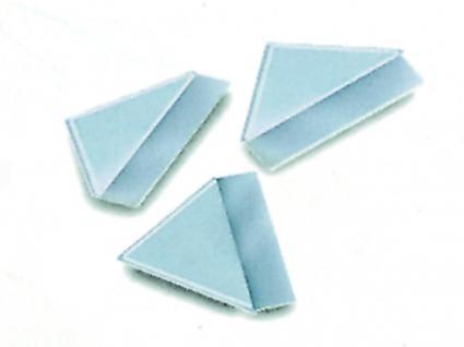 250 SAFE 1832 Selbstklebe-Ecken Fotoecken 19 x 19 mm Glasklar Für Postkarten Ansichtskarten Deko Bilder Fotos - Vorschau 2