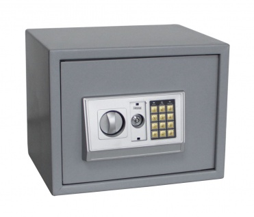 "SAFE 3992 Security Tresor "" Midi "" Möbeltresor Wandtresor Schliessfach Banksafe mit elektonischem Zahlenschloss 380x300x300 mm"