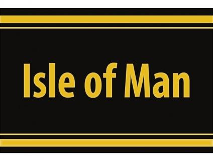 "1 x SAFE 1130 SIGNETTE Aufkleber selbstklebend "" Isle of Man """