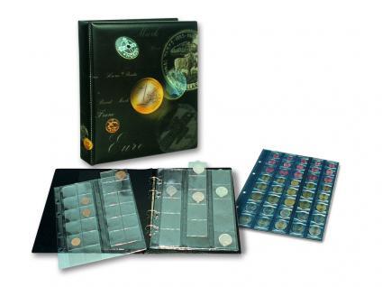 SAFE 7384 ARTline EUROMÜNZALBUM Münzalbum 20 x komplette EURO Kursmünzensätze 1, 2, 5, 10, 20, 50 Cent - 1, 2 Euro Münzen