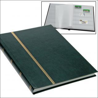 SAFE 131-3 Briefmarken Einsteckbücher Einsteckbuch Einsteckalbum Einsteckalben Album im Buchformat A5 Grün 16 weissen Seiten