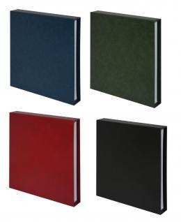 10 KOBRA G13E Ergänzungsblätter Klarsichthüllen glasklar + schwarzer Einlage 3 Taschen 235 x 90 mm - Vorschau 5