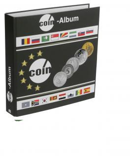 SAFE 8559 Münzalbum Designo Universal - World Coins leer zum selbst befüllen