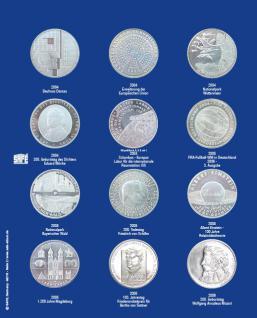 1 x SAFE 7311-2 TOPset Ergänzungsblatt Münzblätter + Vordruckblatt Deutsche 10 Euromünzen 2004-2006