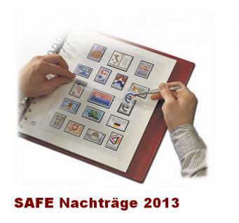 SAFE 250512SP dual Nachträge - Nachtrag / Vordrucke Liechtenstein Kleinbogen 201