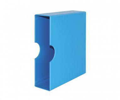 LINDNER S3541-5 Nautic - Blaue Schutzkassette Kassette Für S3540-5 Ringbinder Album PUBLICA M COLOR