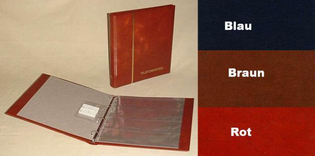 KOBRA SK Schutzkassette - Kassette Rot Für das Ringalbum Großformat G12S & G14 & S Binder - Vorschau 3