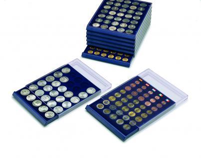 1 x SAFE 6326 SP Tableaus / Einsätze SMART mit 35 runden Fächern 26 mm ideal für 2 Euro Münzen - Vorschau 3