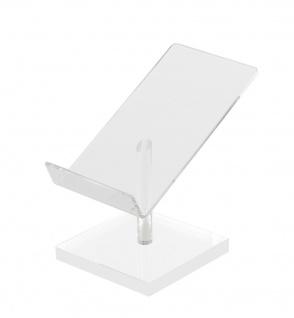 SAFE 3142 Acryl Design Mobiltelefon / Handy Ständer Halter für alle Iphones & Smartphones - Vorschau 2