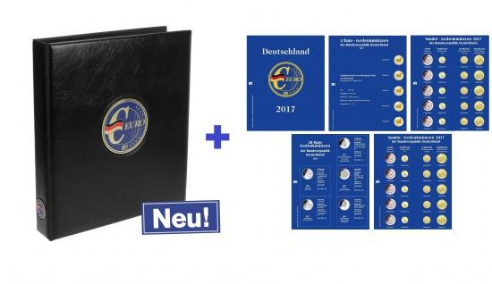 SAFE 5414-19 PREMIUM EURO Münzalbum Vordruckalbum Deutschland komplett + Münzblättern + Vordruckblättern 2019