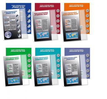 SAFE 7360 PREMIUM Münzalbum Deutsche 5 Euro Münzen Blauer Planet Erde Gedenkmünzen komplette + 6 Münzblätter & Vordruckblätter 2016 - 2017 - 2018 - 2019 - 2020 - 2021 - Vorschau 4