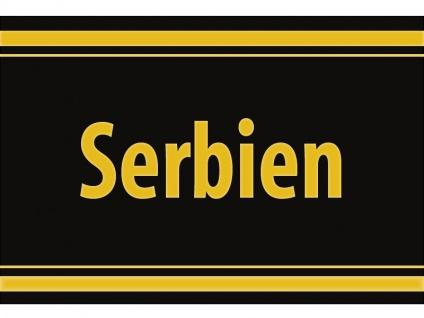 """1 x SAFE 1130 SIGNETTE Aufkleber selbstklebend """" Serbien """""""