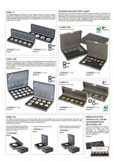 LINDNER 2362-4 Nera S Münzkassetten mit 4 Feldern Münzen bis 52 mm & bis Münzkapseln 46 mm Octo Quadrum Münzkapseln Münzrähmchen - Vorschau 5