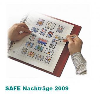 SAFE 250509SP dual Nachträge - Nachtrag / Vordrucke Liechtenstein Kleinbogen 2009
