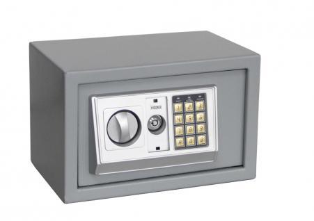"SAFE 3990 Security Tresor "" Mini "" Möbeltresor Wandtresor Schliessfach Banksafe mit elektonischem Zahlenschloss 310x200x200 mm"