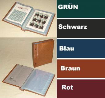 KOBRA B2 Blau Kleinbogenalbum Bogenalbum + 50 Hüllen für alle Kleinbogen Blocks ETB Banknoten bis 155 x 225 mm
