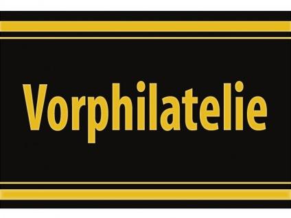 """1 x SAFE 1130 SIGNETTE Aufkleber selbstklebend """" Vorphilatelie """""""