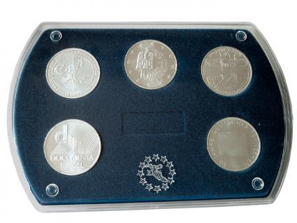 LINDNER 8496 Münz-Etui 5 x 10 / 20 Deutsche Euromünzen Gedenkmünzen - Vorschau