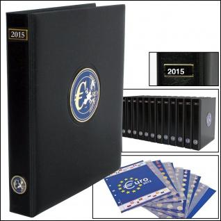 SAFE 7434 PREMIUM EURO ANNO JAHRGANGS MÜNZALBUM + Vordrucke Kursmünzensätze 2015