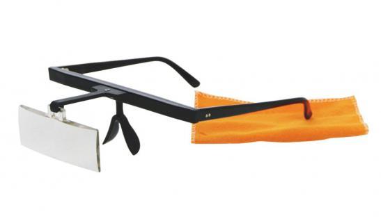 SAFE 9832 LUPENBRILLE für 2, 5x fache Vergrößerung für Hobby & Beruf scharfes Vergrößerungsbild