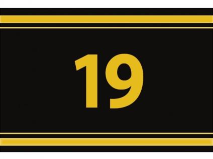 """1 x SAFE 1130 SIGNETTE Aufkleber """" 19 """" Zahlen Ziffern Bandzahlen"""