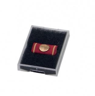SAFE 8103 Kunsstoffetuis Sammeltuis + Schaumstoffeinlage 55x38x8 mm Für Orden Militaria Medaillen
