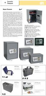 SAFE 216 Security ALU CD - Sammel - Koffer Für 510 CD's DVD's Blue Ray Datenträger in Hängeregistern - Vorschau 3