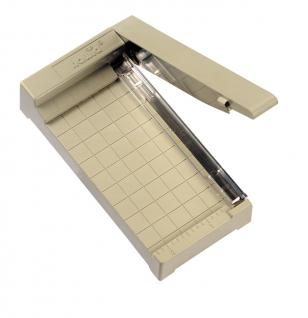 HAWID HA605 Schneidemaschine klein bis 93 mm für Fotos - Klemstreifen für Briefmarken usw.