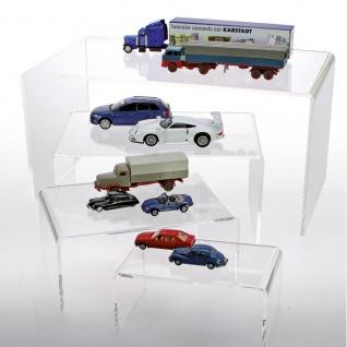 SAFE 5293 ACRYL Präsentationsbrücke Deko Aufsteller 360 x 200 x 175 Für Modellbau Autos Motorrädern Eisenbahnen Mini Trucks
