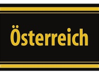 """1 x SAFE 1130 SIGNETTE Aufkleber selbstklebend """" Österreich """""""