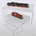 SAFE 5291 ACRYL Präsentationsbrücke Deko Aufsteller 190 x 125 x 85 Für Modellbau Eisenbahnen - Autos - KFZ - Mini Trucks - Sportwagen - Rennwagen - Motorräder