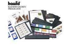 HAWID HA 1087082 / HA1087082 Blockstreifen 10x schwarze Klemmtaschen 87 x 82 mm mit doppelter Klemmnaht