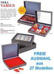 LINDNER 2369 NERA VARIUS Sammelkassetten mit glasklarem Sichtfenster Kassetten Setzkästen Sammlerboxen 27 Modelle FREIE AUSWAHL