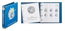 LINDNER 1117M2 Münzalbum 10 Euro Gedenkmünzen Deutschland Vordruckalbum Teil II 2010 - 2015