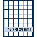 SAFE 6324 Nova Münzboxen - Schubladenelemente 48 eckige Fächer 24 mm für 50 Cent 1 Euro DM - US State Quarters