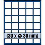SAFE 6330 Nova Münzboxen - Schubladenelemente 30 runde Fächer 30 mm für 5 Euro DM Mark der DDR & Münzkapseln bis 24, 5 mm