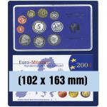 SAFE 6372 Nova Münzboxen - Schubladenelemente 2 eckige Fächer 102 x 163 mm für 2 DM Euro PP Epalux Etuis für Kursmünzensätze KMS