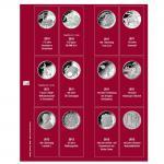SAFE 7342-5 Premium Münzblätter Ergänzungsblätter Münzhüllen 7392 mit Vordruckblättern Deutsche 10 Euro Gedenkmünzen 2010 - 2012