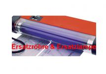 LINDNER 7080001 Ersatzröhre - Ersatzlampe für Nr. 7080 / 7080o UV Prüfer Prüfgerät Lampe 4W / 365 nm