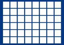 1 x SAFE 5946-1 Schwarze Schubladen mit blauen Tableaus 48 eckige Fächer 33 mm für die Kassetten 6590 & 6591 Ideal für 2 Euro Gedenkmünzen - 5 Euro Blauer Planet Erde in Münzkapseln & Deutsche 10 DM - 10 / 20 Euro
