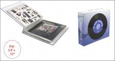 """SAFE 444 Schallplattenalbum Album Schallplatten Für bis zu 16 Vinyl LP & Doppel LP - Schellack Platten Langspielplatten 33"""""""