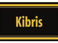 """1 x SAFE 1130 SIGNETTE Aufkleber selbstklebend Zypern """" Kibris """" (türkisch besetzt)"""