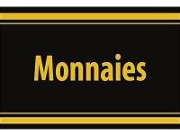 """1 x SAFE 1130 SIGNETTE Aufkleber selbstklebend """" Monnaies """" (französisch)"""