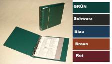 KOBRA FB Grün Münzalbum Album Ringbinder Klassic (leer) zum selbst befüllen