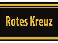 """1 x SAFE 1130 SIGNETTE Aufkleber selbstklebend """" Rotes-Kreuz """""""