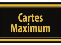 "1 x SAFE 1130 SIGNETTE Aufkleber selbstklebend Maximum Postkarten "" Cartes Maximum """