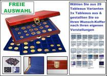 SAFE 5782 Premium WURZELHOLZ Münzkassetten mit 3 Tableaus FREIE Auswahl aus 29 Modellen