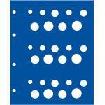 5 x SAFE 7844 TOPset Münzblätter Ergänzungsblätter Münzhüllen für 3x Franc KMS Französische Franc Kursmünzensätze Frankreich - France